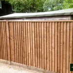 Wooden Close Board Fencing